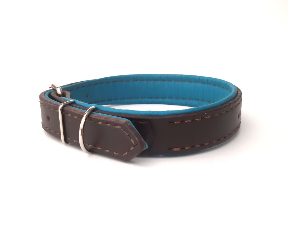 Leather lined collar